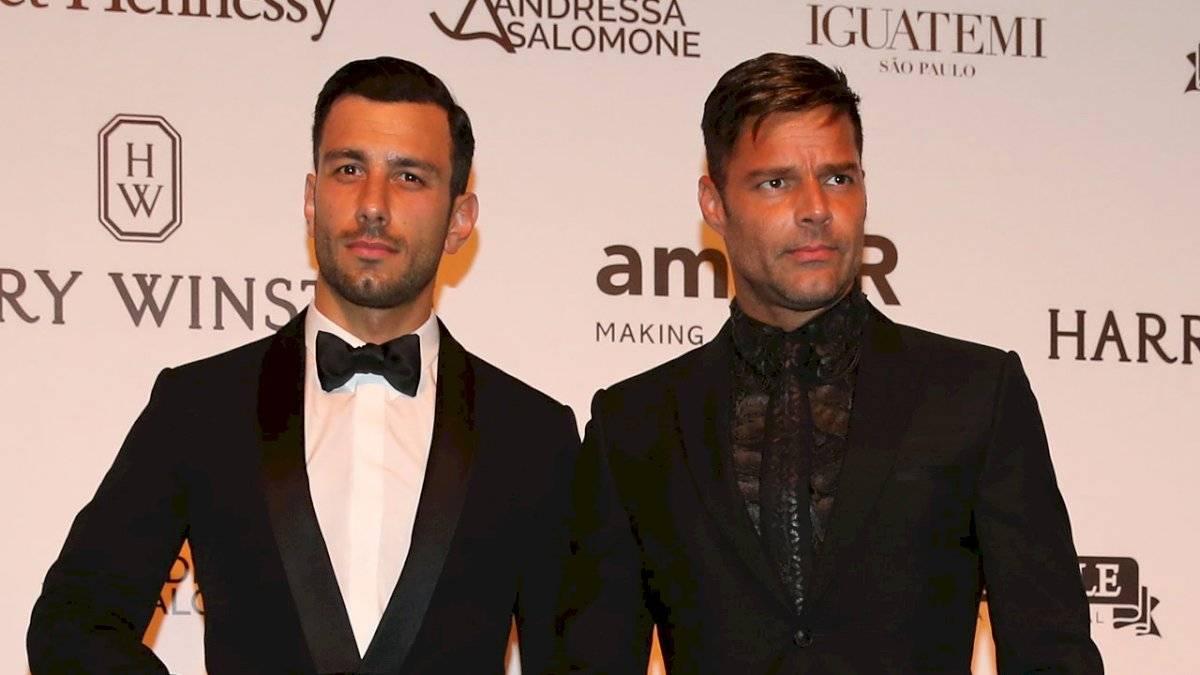 Ricky Martin está casado con el artista plástico Jwan Yosef