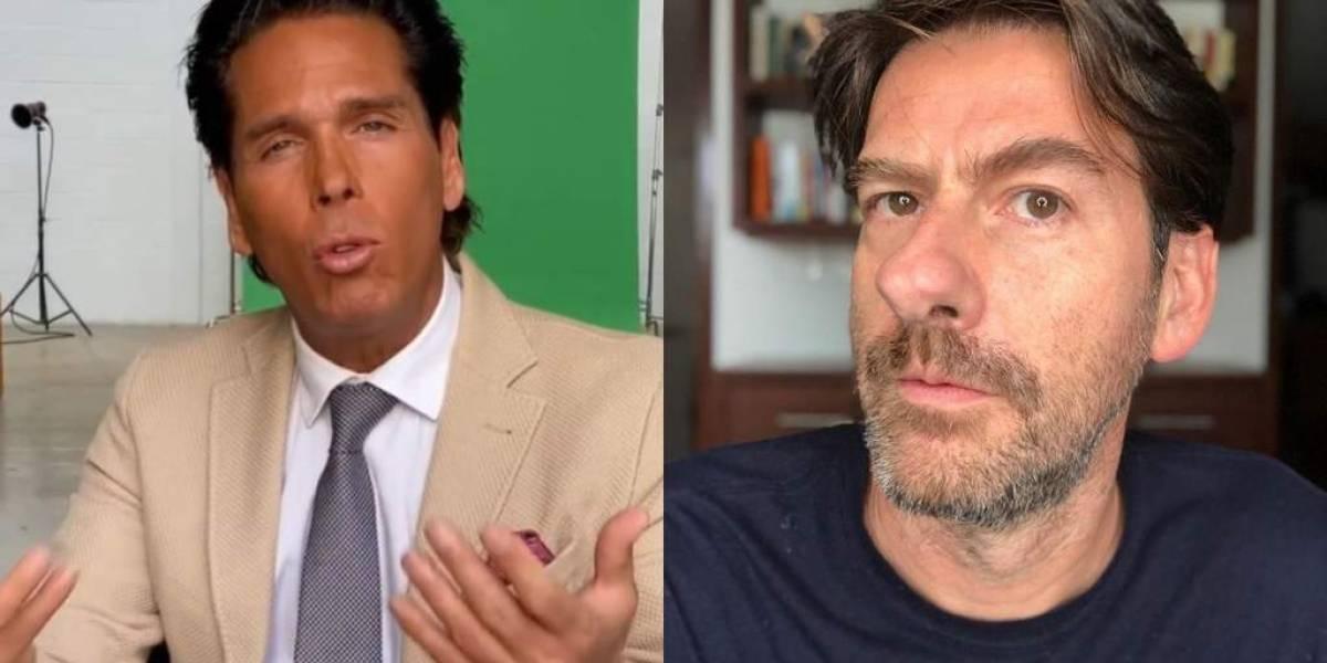 Roberto Palazuelos se enfrenta a Eduardo Videgaray y envía incómodo saludo sobre su hermano