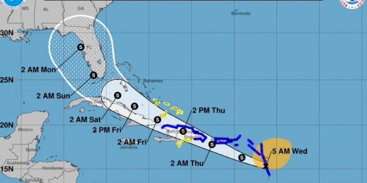 Potencial Ciclón Tropical Nueve producirá lluvias fuertes e inundaciones repentinas