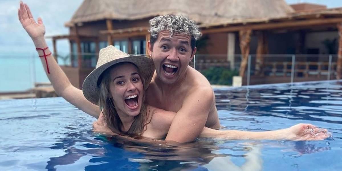 Actriz Yulianna Peniche y exfutbolista 'Parejita' López se comprometen