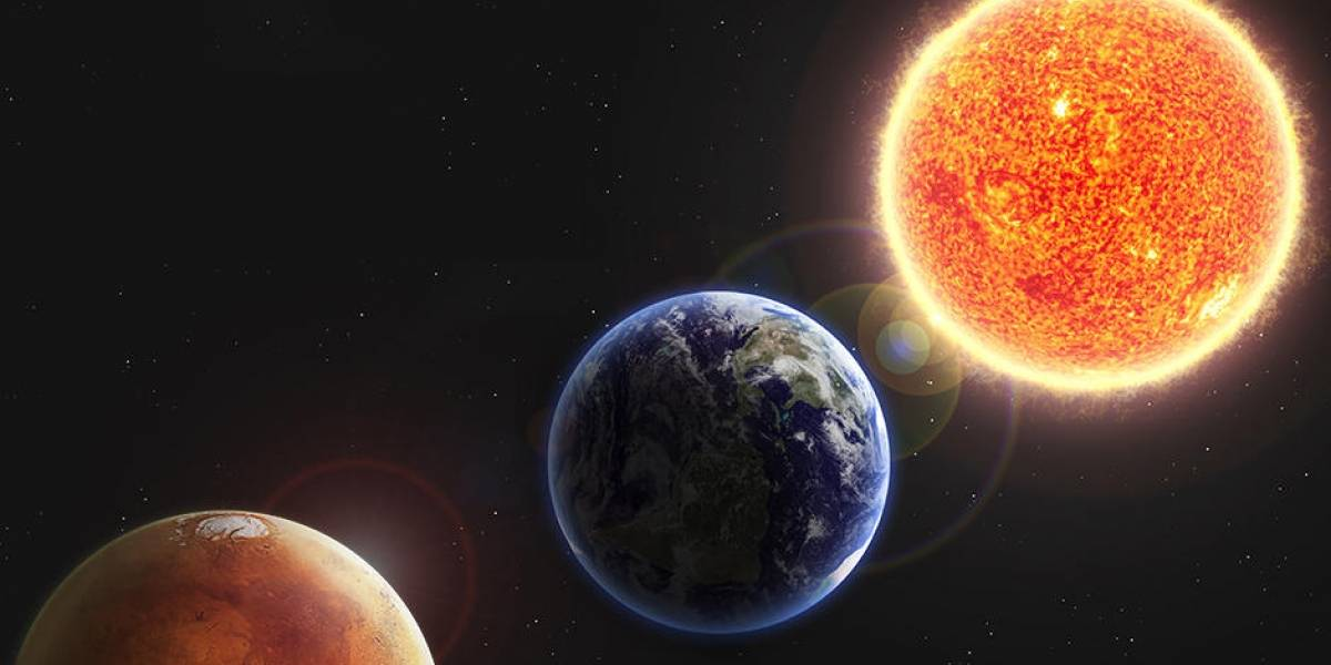 Astronomía: La Tierra y Marte están cerca y lo podrás ver esta semana en el cielo nocturno