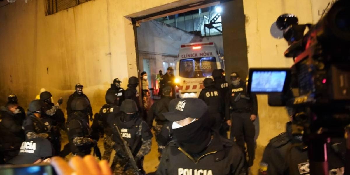 Daniel Salcedo ingresó a la cárcel de El Inca en Quito