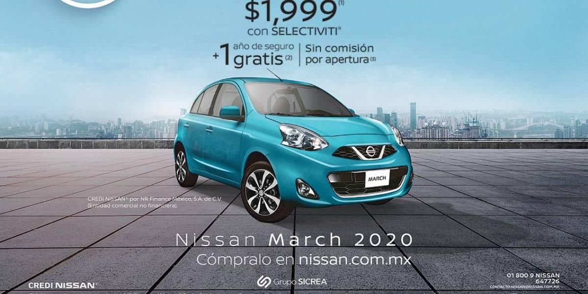 Anuncio Nissan edición CDMX del 30 de Julio del 2020, Página 03