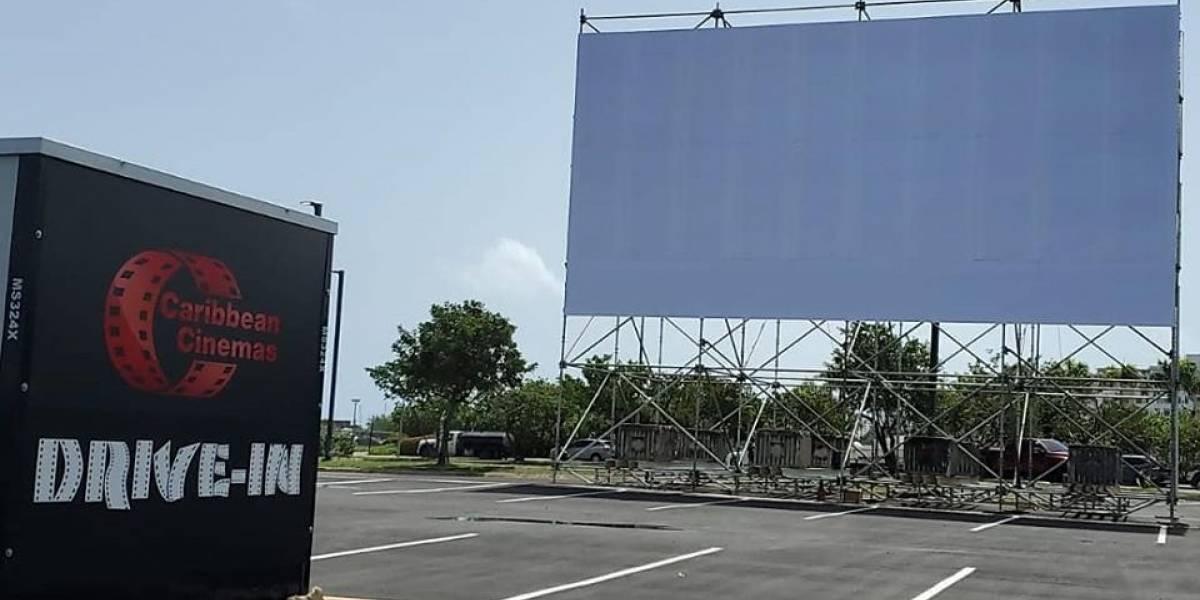 "Cine ""drive-in"" de Caribbean Cinemas llega hoy a Barceloneta"