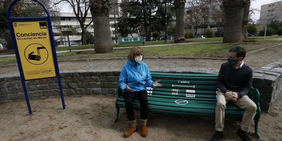 Providencia, optimista de cara al desconfinamiento, presenta plan para abrir plazas y parques