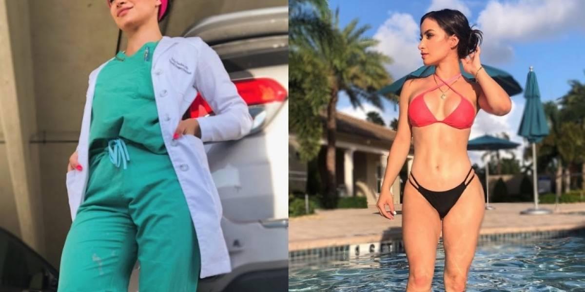 Médicos protestan en bikini contra estudio 'sexista'