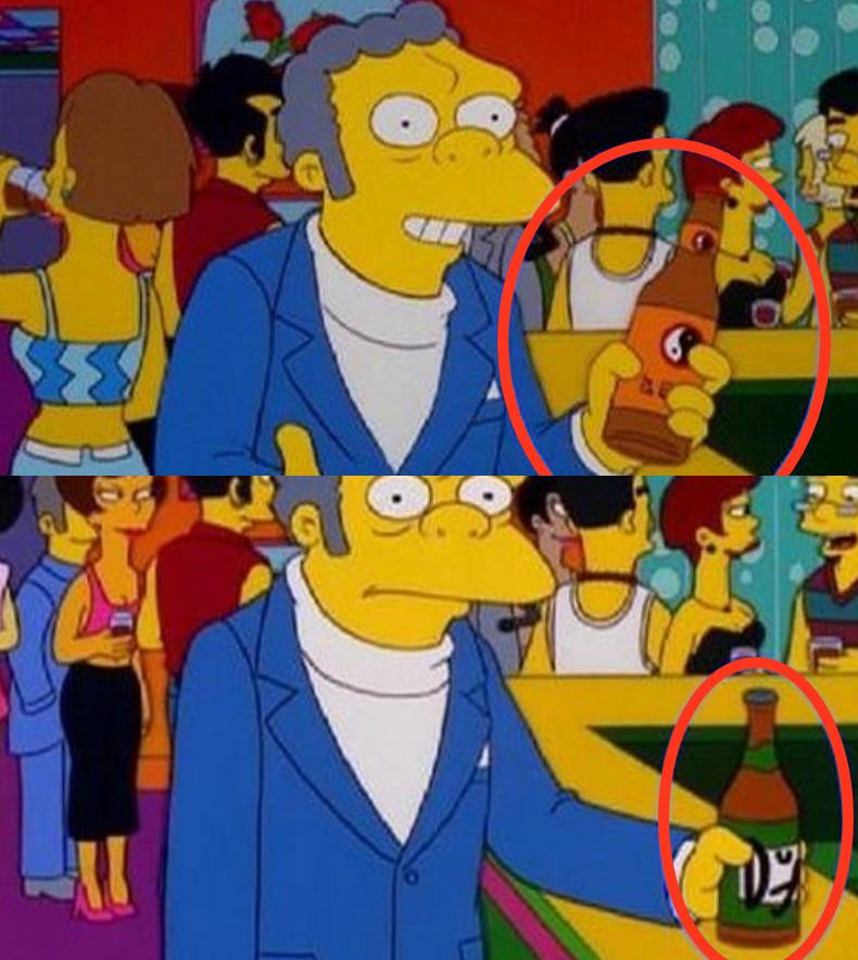 Los Simpson errores
