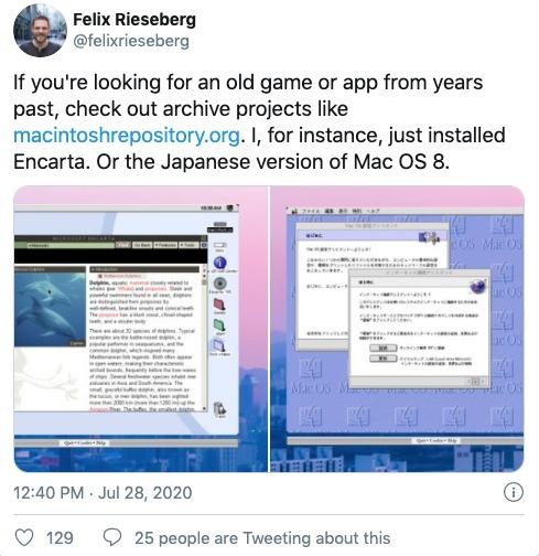Mac OS 8 emulador
