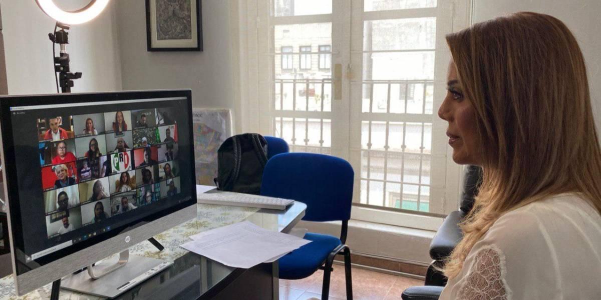 Designa PRI-CDMX a Diana Barrios, líder del comercio como secretaria de ONG's