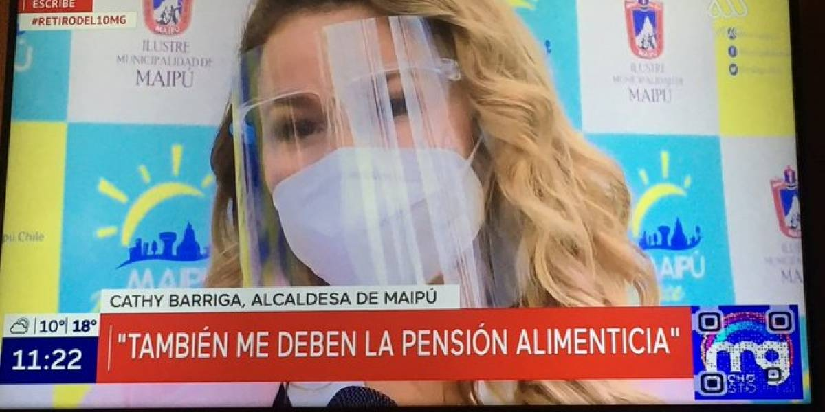 """La increíble revelación de Cathy Barriga: """"A mí también me deben la pensión alimenticia"""""""