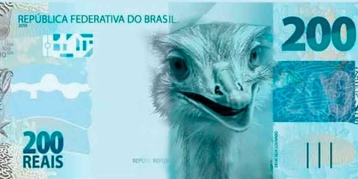 Internet já escolheu como será a nota de R$ 200