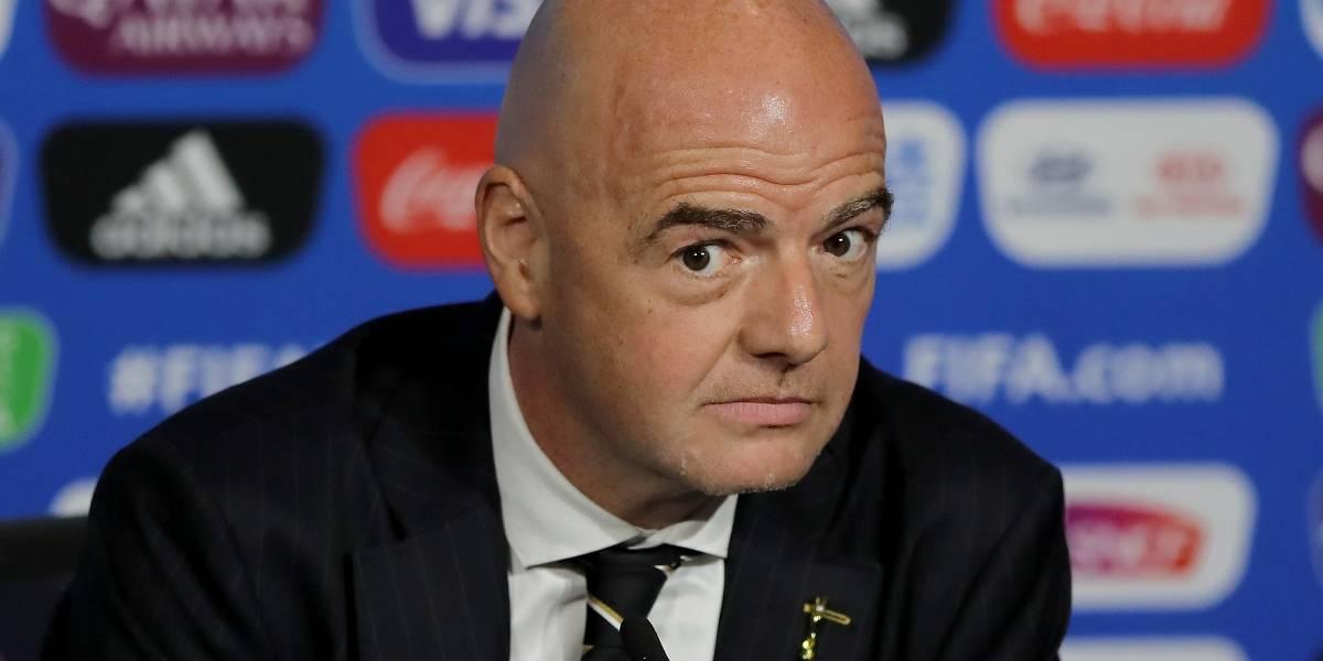 Presidente da Fifa é alvo de inquérito criminal na Suíça