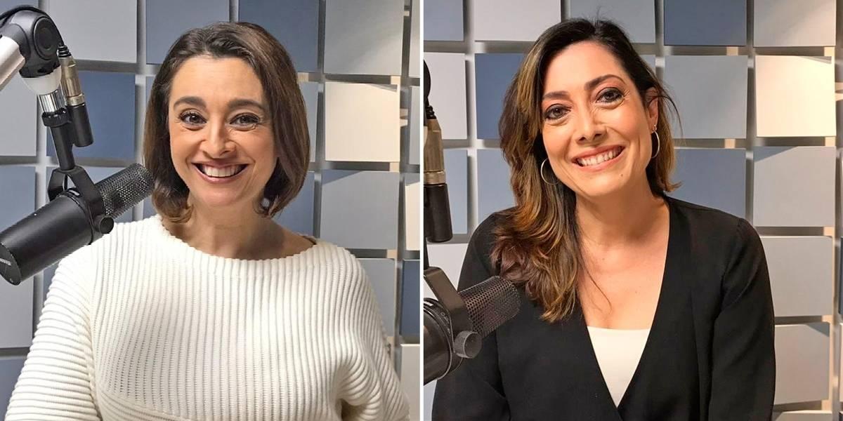 Catia Fonseca e Sonia Blota estreiam na programação da Rádio Bandeirantes neste sábado