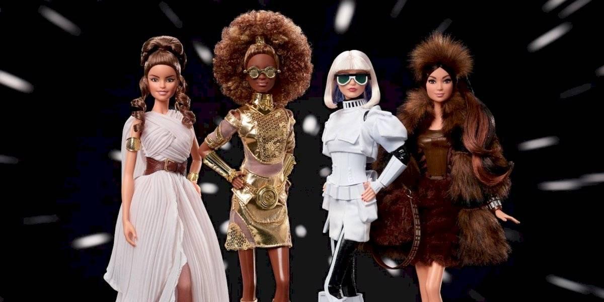 Barbie llega de otra galaxia y lanza colección inspirada en Star Wars