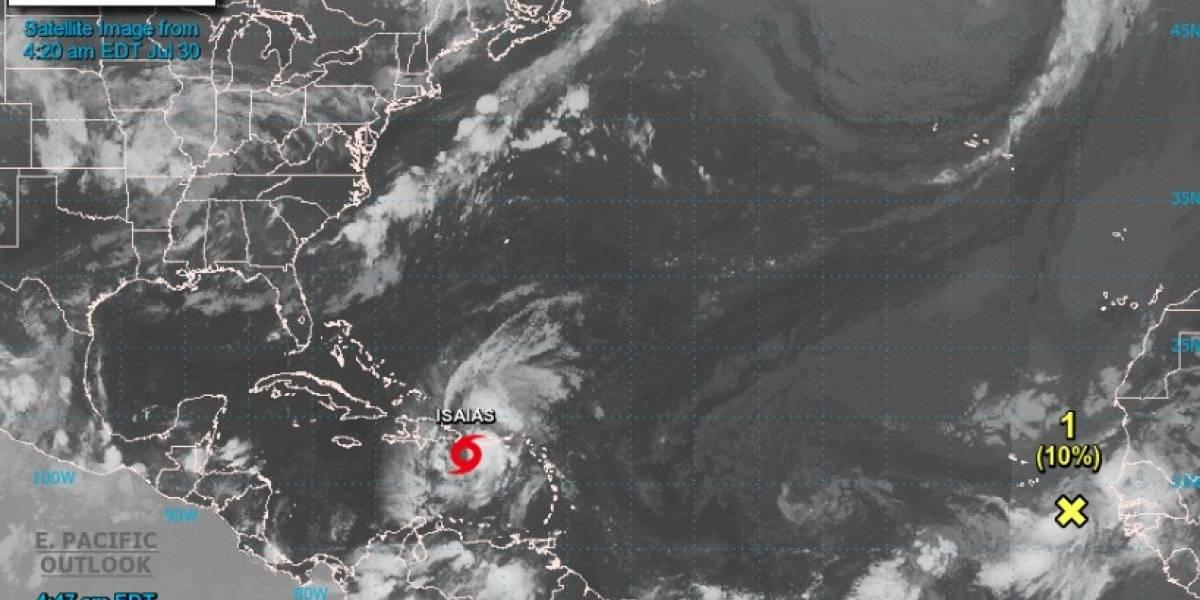 Tormenta Isaías genera fuerte lluvia y vientos sobre Puerto Rico