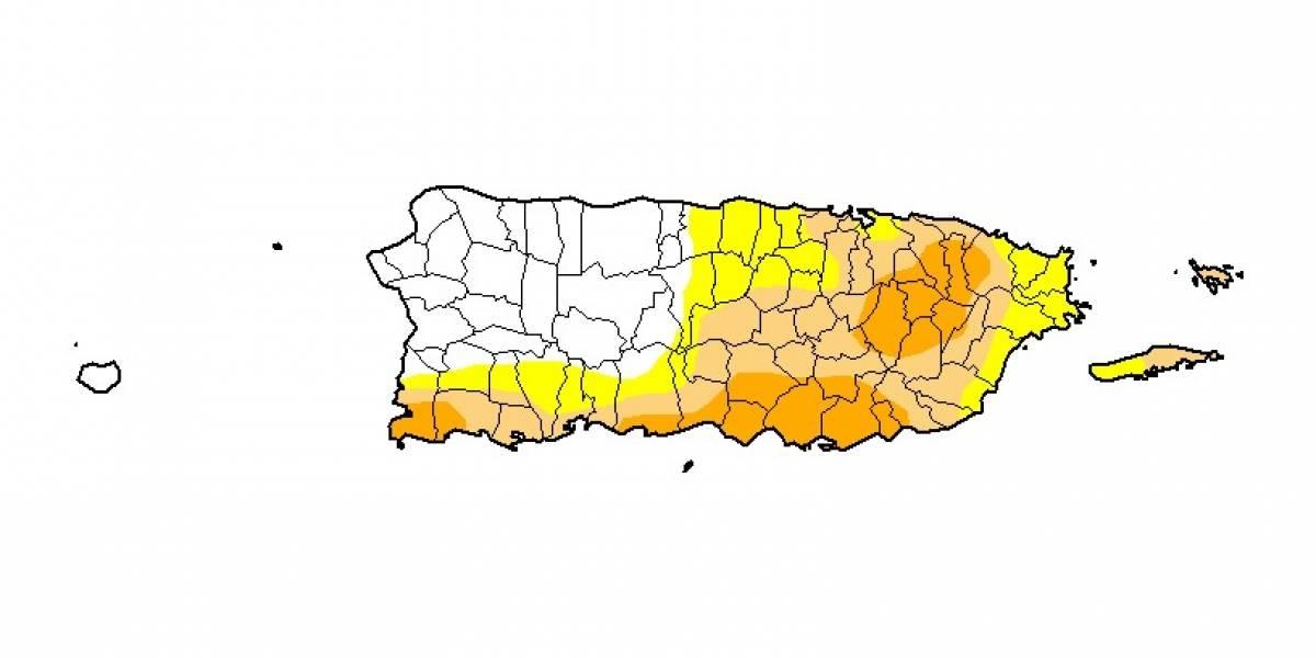 Lluvias bajan la intensidad de sequía en Puerto Rico