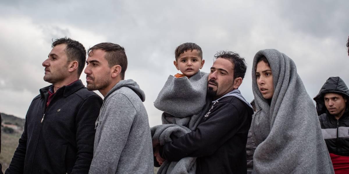 Europa.- Llegan a Alemania otros 22 niños procedentes de los campamentos de refugiados del Egeo