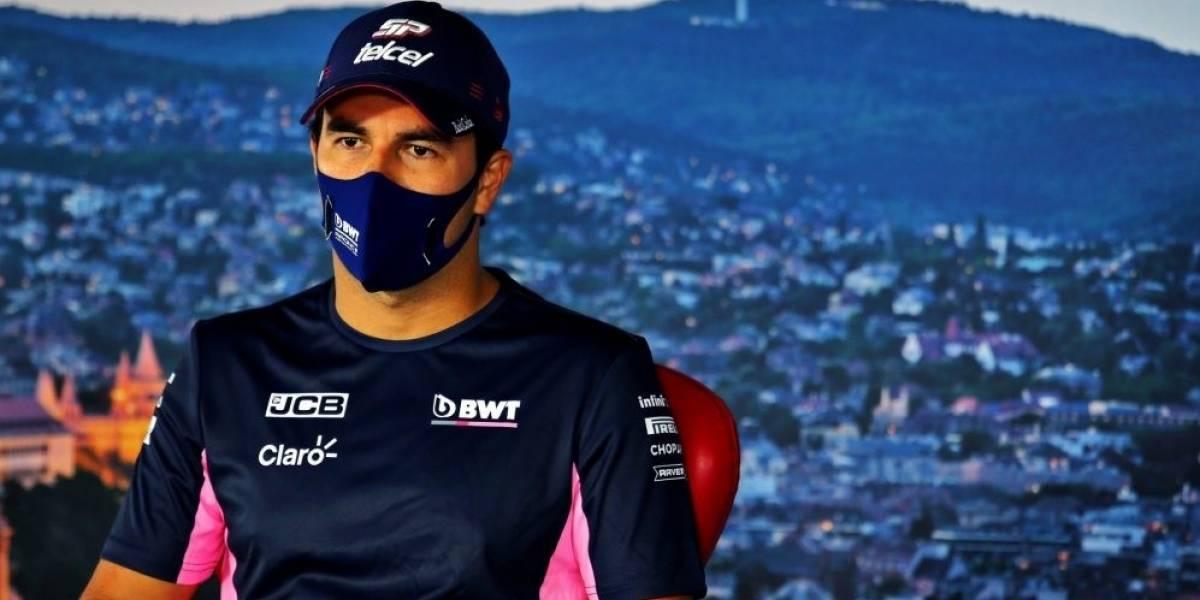 """Fórmula 1.-.-Sergio Pérez: """"Es uno de los días más tristes de mi carrera"""""""