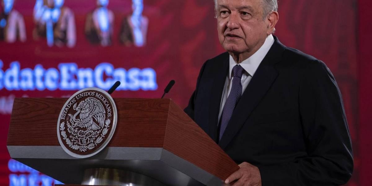Coronavirus.- López Obrador dice que se pondrá la mascarilla cuando no haya corrupción en México