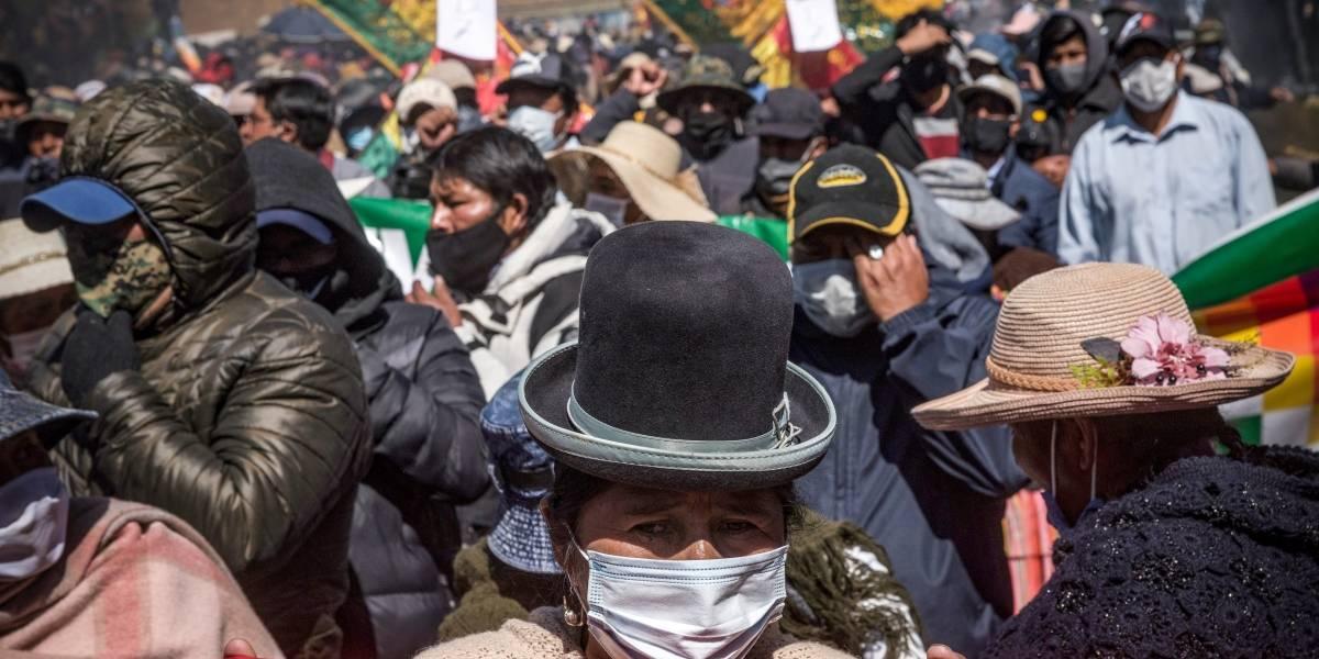 """Coronavirus.- El Gobierno de Bolivia avisa de que """"de nada va a servir"""" el esfuerzo sanitario si continúan las marchas"""