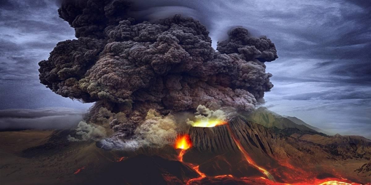 Ciencia.-Una fuerte actividad volcánica enfrió la Tierra 13.000 años