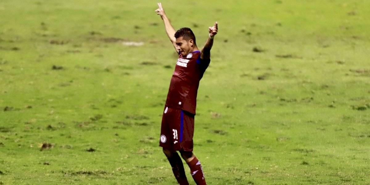 Cruz Azul rescata agónico empate frente al Puebla