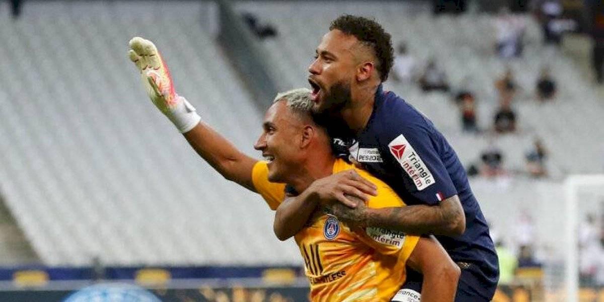 PSG: Keylor Navas se viste de héroe en la final de Copa de Francia