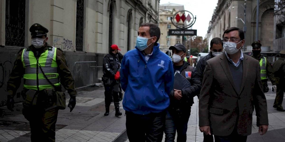 Ministro Paris respondió a la solicitud del alcalde Alessandri: este domingo se analizará si Santiago y Providencia pueden salir de la cuarentena