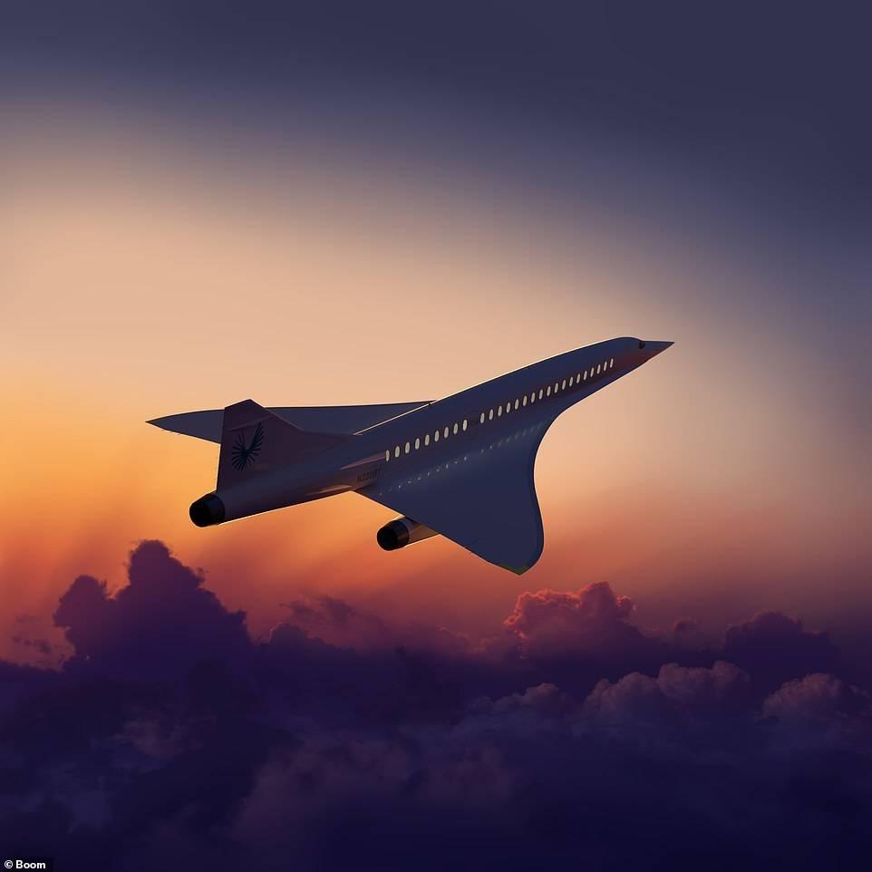 Boom Supersonic Overture, ahora repotenciado por Rolls-Royce.