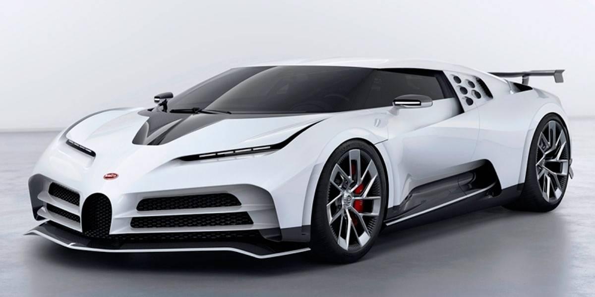 CR7 encomenda Bugatti de R$ 57 milhões