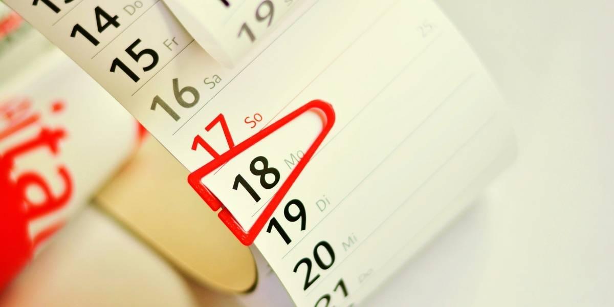¿Importa saber qué día de la semana es?
