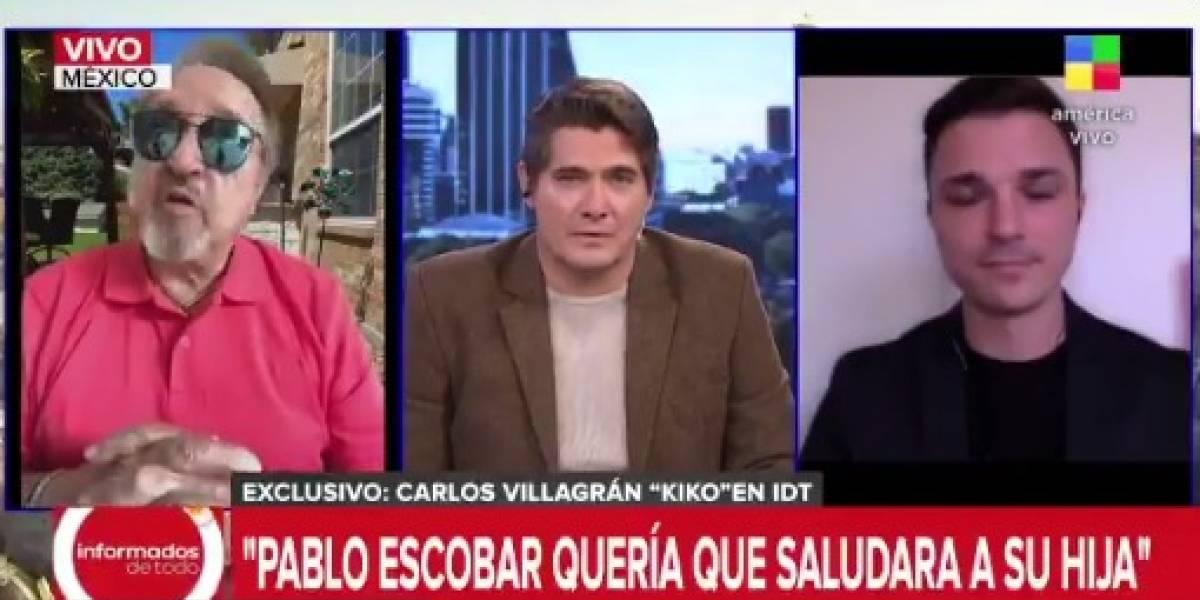 """""""Se me heló el cuerpo"""": 'Quico' del Chavo del 8 recordó la millonaria propuesta que le rechazó a Pablo Escobar"""
