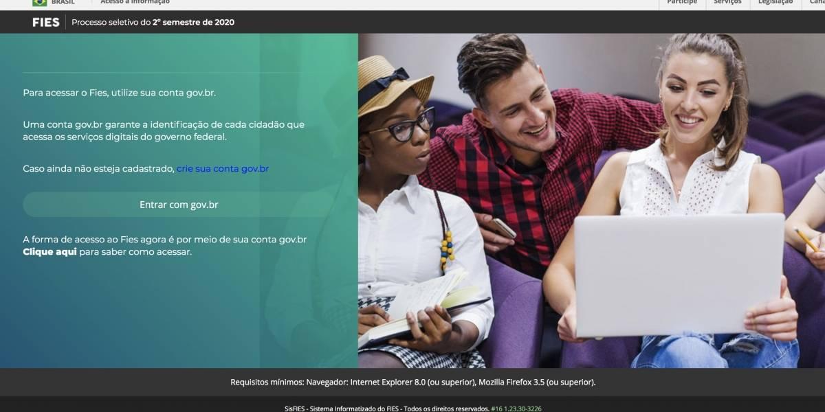 Fies 2020.2: Inscrições para bolsas em universidades privadas terminam nesta sexta