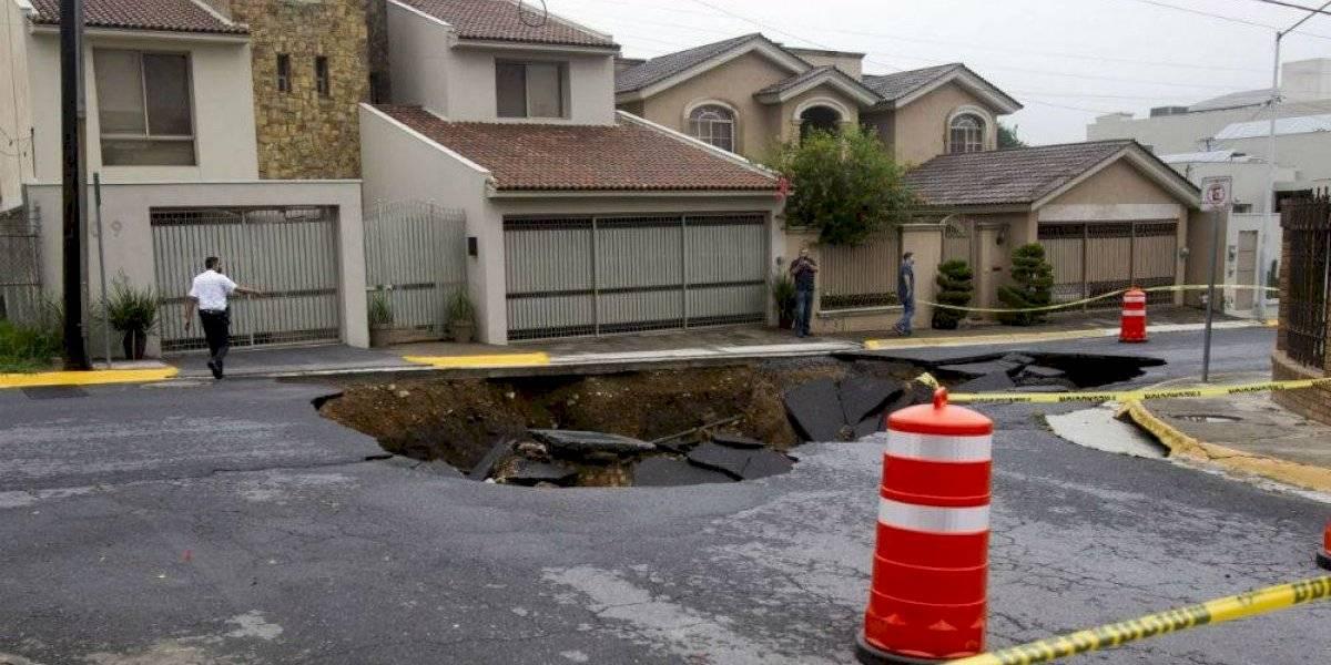La destrucción del huracán Hanna