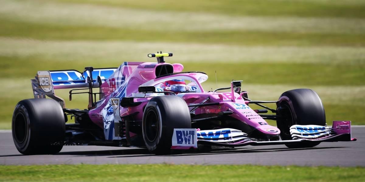 Lance Stroll sorprende y domina las prácticas libres en Silverstone