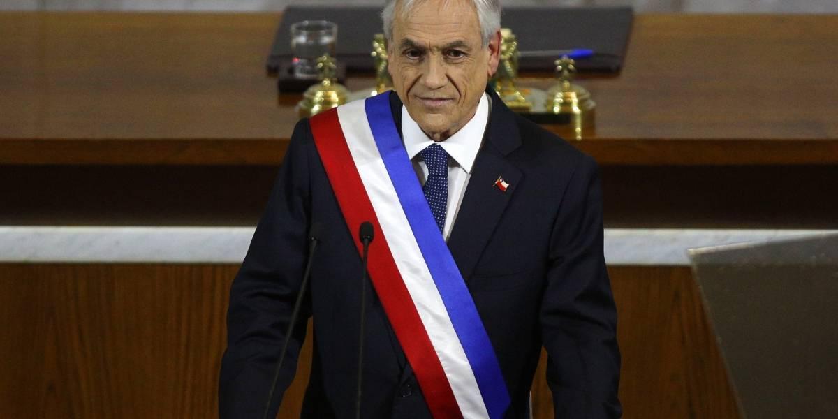 """Polémica por palabra """"disculpas"""" que estaba en el texto que el Presidente Sebastián Piñera no mencionó"""