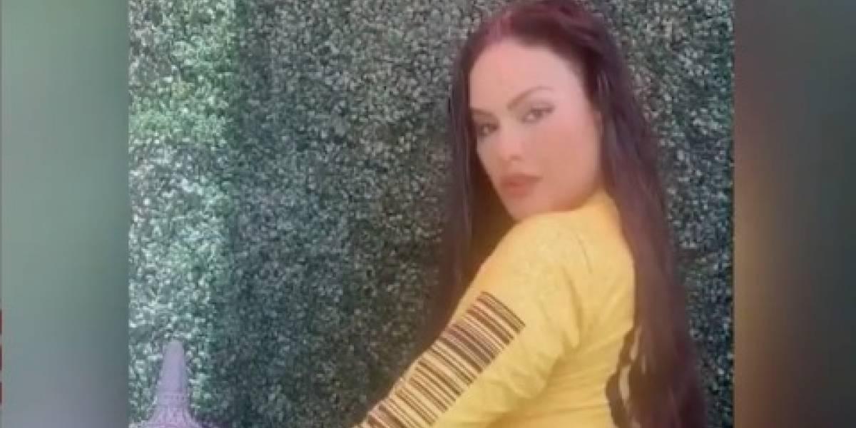 """Mimi Pabón rompe las redes con su versión del """"Gistro Amarillo"""""""