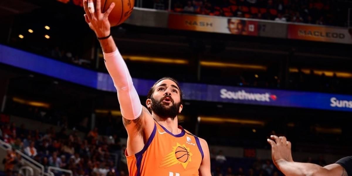 Baloncesto/NBA.- Los Suns de Ricky Rubio se imponen a los Wizards en su vuelta a la NBA