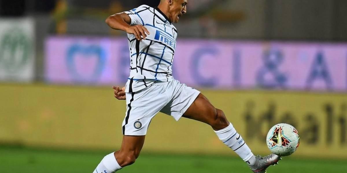 Con Alexis Sánchez al final el Inter venció al Atalanta y aseguró el subliderato