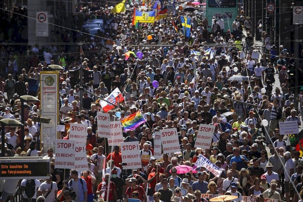 Manifestación Berlín