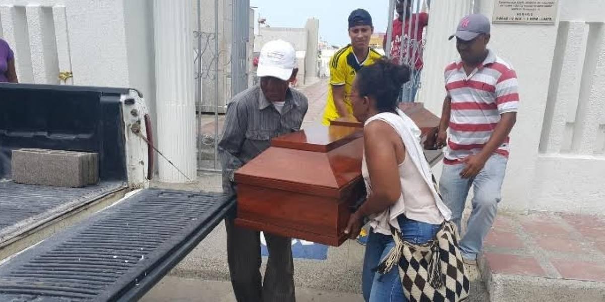 Atracaron a líder social y dueña de un cementerio para NN en el campo santo