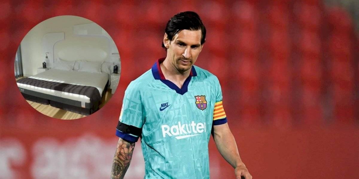 Lionel Messi adquiere cama que mata al coronavirus