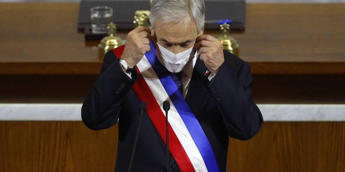 """Presidente Sebastián Piñera se refiere a la polémica por las """"disculpas"""" que omitió en su Cuenta Pública"""