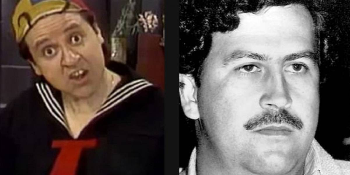 Carlos Villagrán, Quico, contó la ocasión en la que rechazó una 'jugoza' oferta de Pablo Escobar