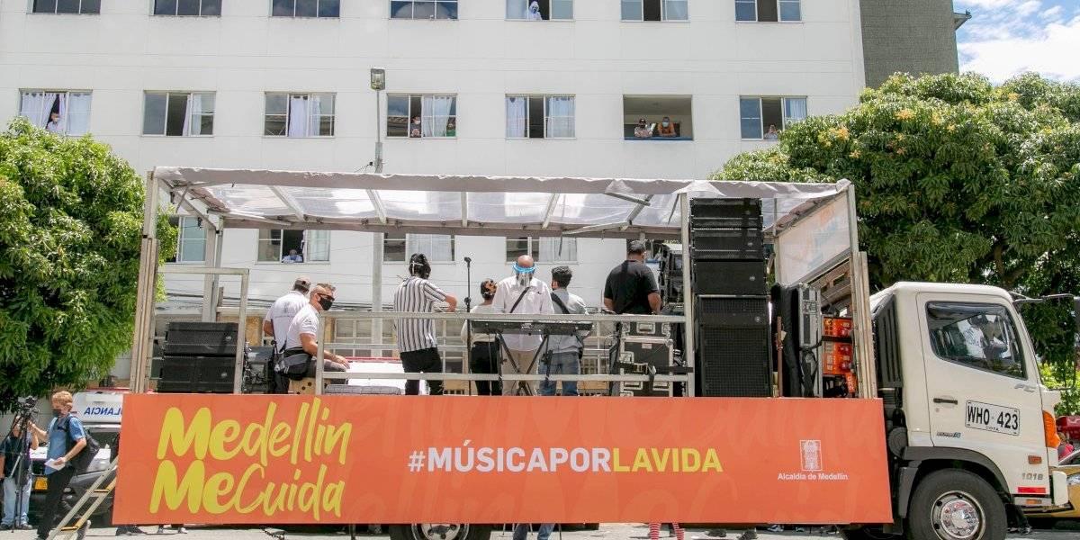 A todos los hospitales de Medellín llegará #MúsicaPorLaVida