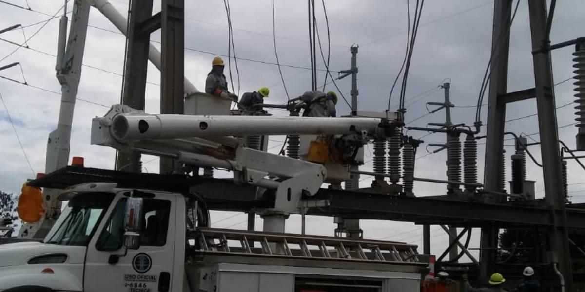 Estos sectores podrían quedarse sin luz el fin de semana por trabajos de AEE