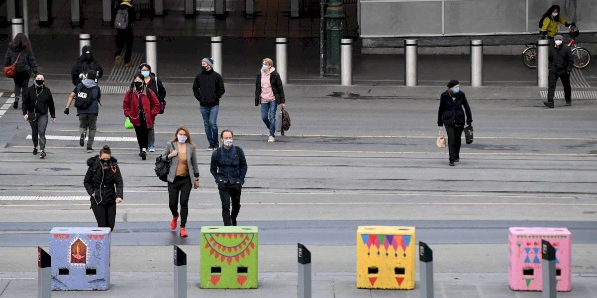 Australia impone toque de queda en Melbourne y declara el estado de desastre en Victoria
