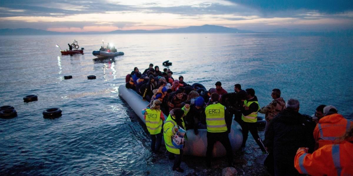 Europa.- Turquía rescata a casi 70 migrantes en una embarcación en el mar Egeo