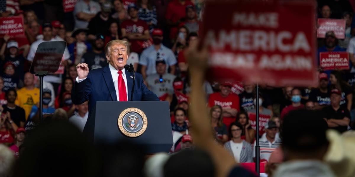 EEUU.-La convención republicana para nominar a Trump a la Presidencia no permitirá el acceso a la prensa por la COVID-19