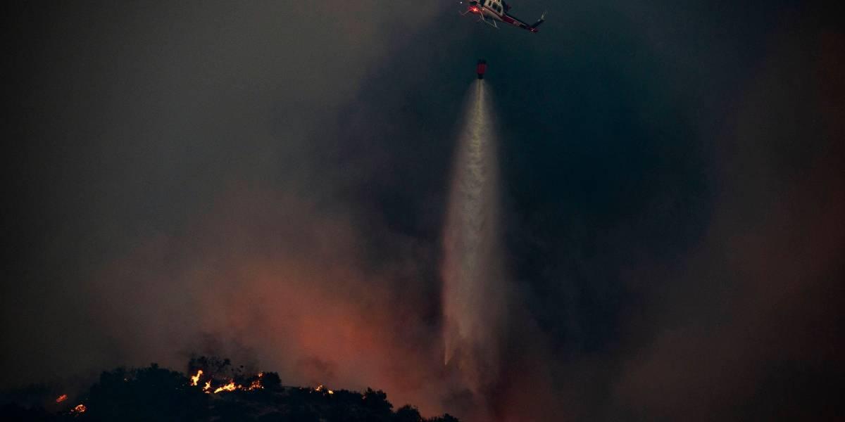 EEUU.- Miles de evacuados en California ante el avance del incendio en el condado de Riverside